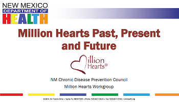 Million Hearts Presentation Cover Page for Website
