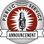 PSA Announcement Clipart