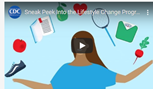 CDC Sneak Peak into Lifestyle Change