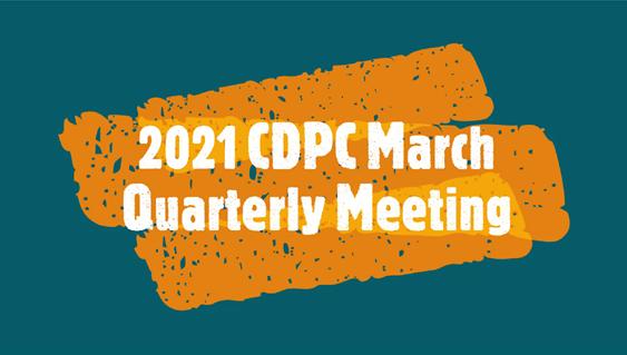 2021 CDPC Quarterly Meeting Thumbnail