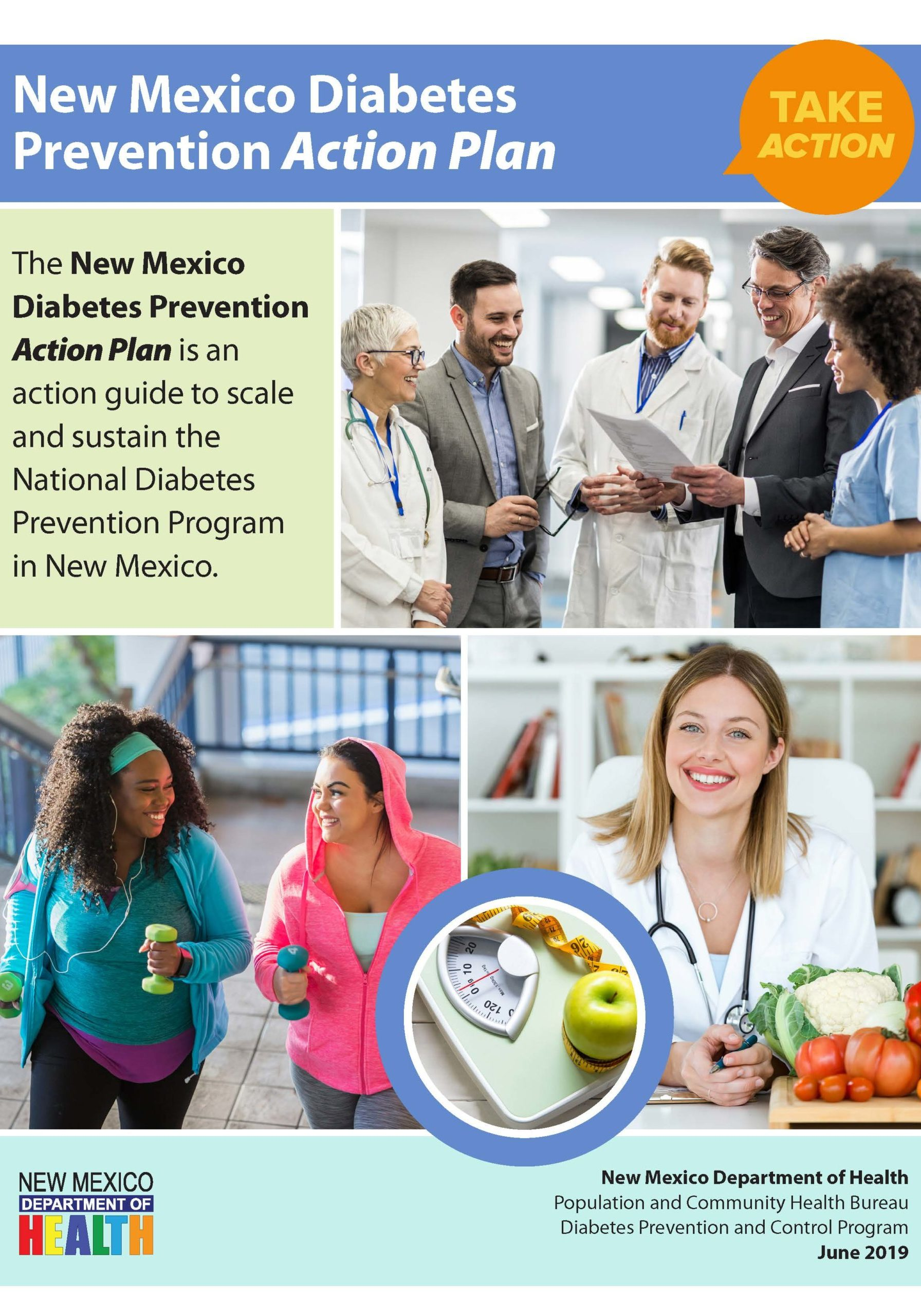 COVER Page FINAL NM Diabetes Prevention Action Plan June 2019