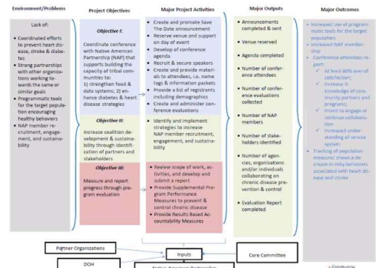NAP Project Logic Model